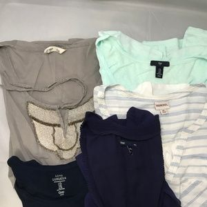 GAP Tops - Bundle of 5 XL Tops Gap, Old Navy, Merona